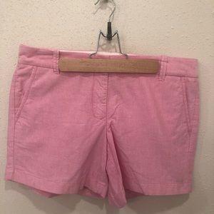 J. Crew Pink Cotton City Fit Shorts 8